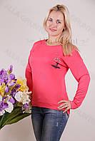 Блуза-туника трикотажная 420-осн703-114 норма оптом от производителя Украина