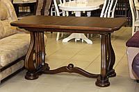 Стол обеденный деревянный из бука, фото 1