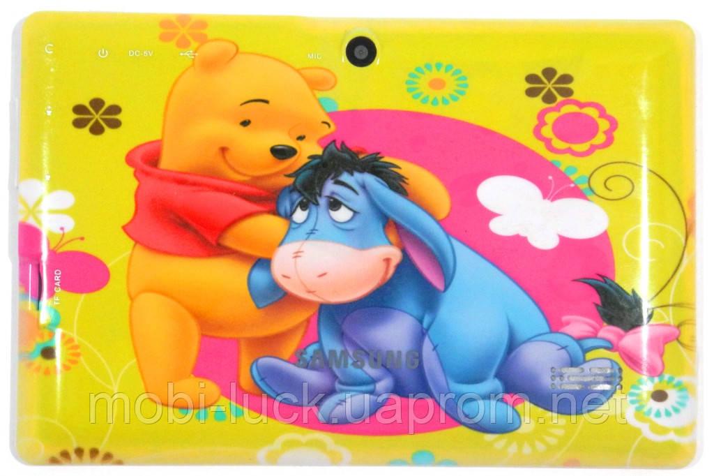 Яркий планшет для детей  Q88,экран 7 дюймов.