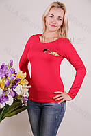 Блуза-туника трикотажная 424-осн700-144 норма оптом от производителя Украина
