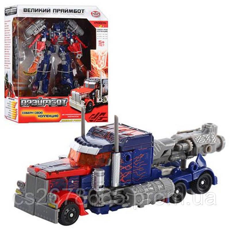 Трансформер H 601/8107 Праймбот, 17 см, робот-трейлер