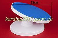 Стойка кондитерская для торта пластмассовая с наклоном D30см H14см