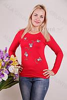Блуза-туника трикотажная 407-осн700-148 норма оптом от производителя Украина