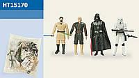 -43%!!!Герои Star Wars HT15170, 4 героя, р-р игр.12см, в пакете 15,5*17см