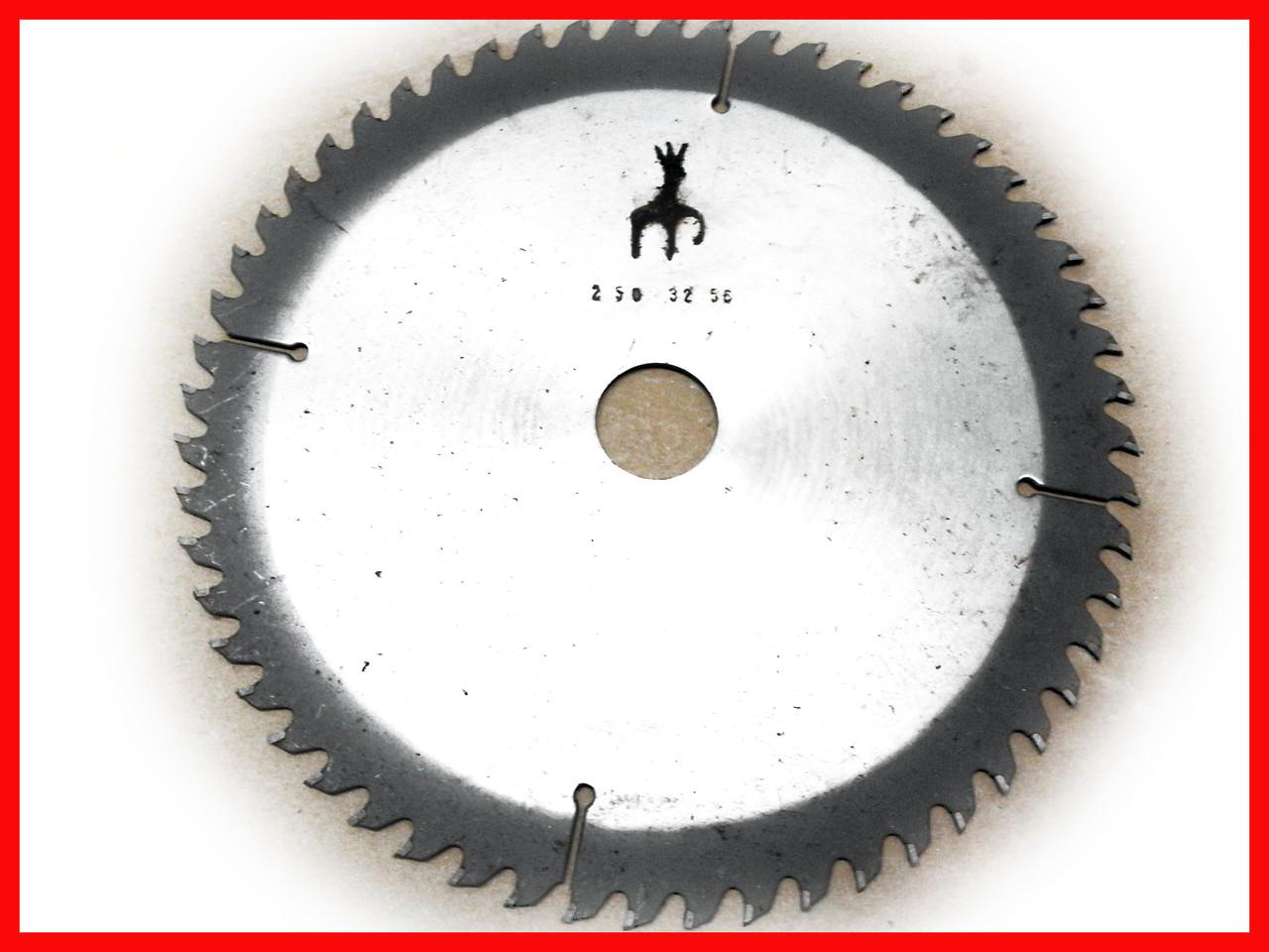 Пильный диск. 250х32. Пильный диск по дереву. Циркулярка. Дисковая пила.