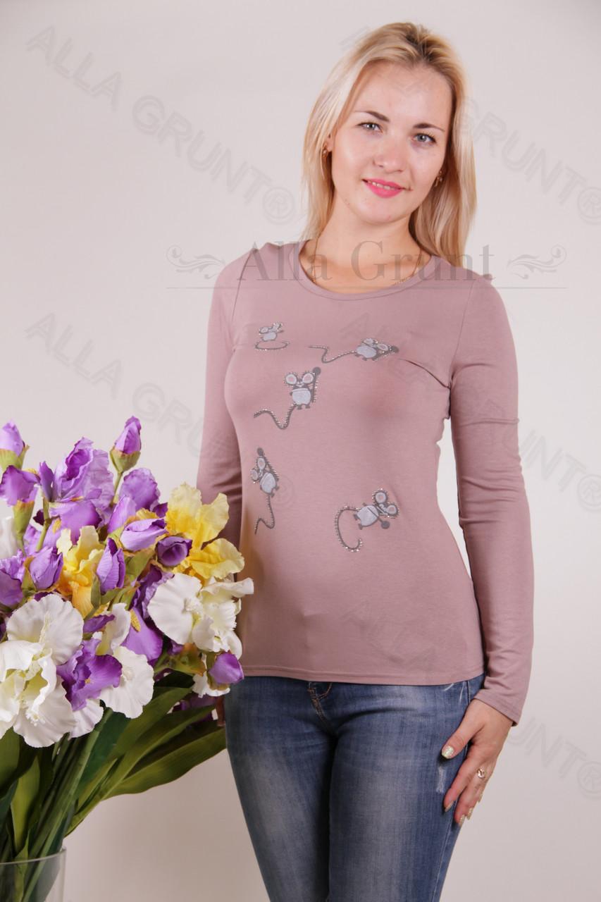 Блуза-туника трикотажная 428-осн700-148 норма оптом от производителя Украина