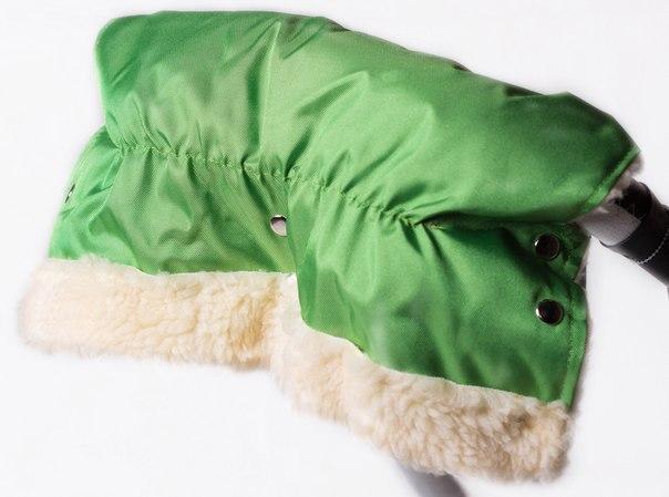 Муфта Умка M02 для рук на коляску зеленый