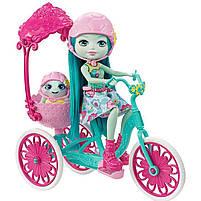 Игровой набор велосипед на двоих и кукла Энчантималс / Enchantimals Built for Two Doll Set, фото 2