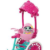 Игровой набор велосипед на двоих и кукла Энчантималс / Enchantimals Built for Two Doll Set, фото 4