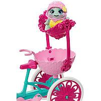 Игровой набор велосипед на двоих и кукла Энчантималс / Enchantimals Built for Two Doll Set, фото 5
