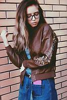 Женский модный бомбер (3 цвета), фото 1