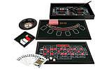 Казино 4 в 1: рулетка, покер, кости, блэкджек настольная игра, фото 6