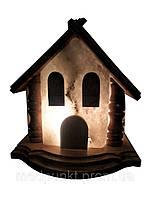 Солевая лампа, светильник Домик 5-6 кг