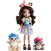 Игровой набор для пикника и кукла Энчантималс / Enchantimals Paws for a Picnic Doll Set