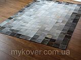 Ковры холодных оттенков, купить шкуру ковер в серых тонах, фото 2