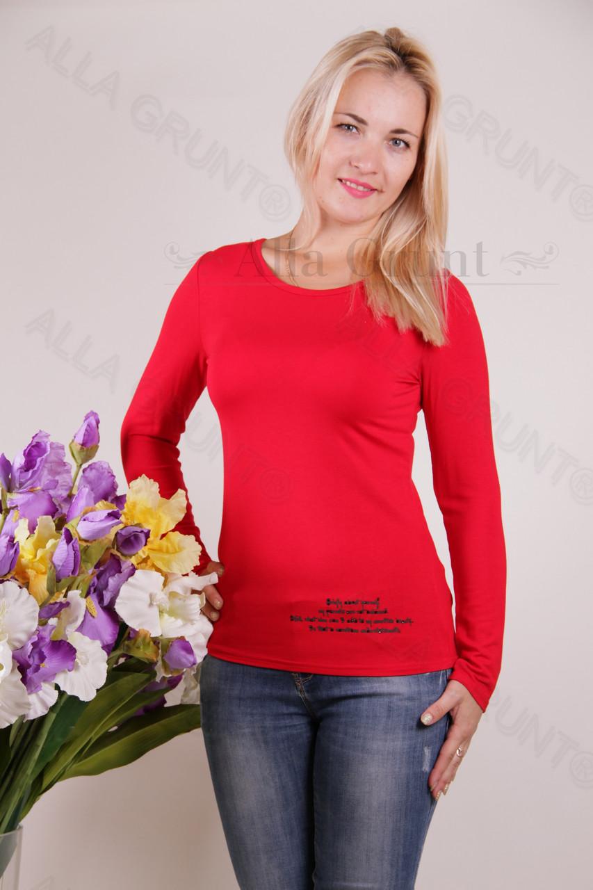Блуза-туника трикотажная 407-осн700-130 норма оптом от производителя Украина