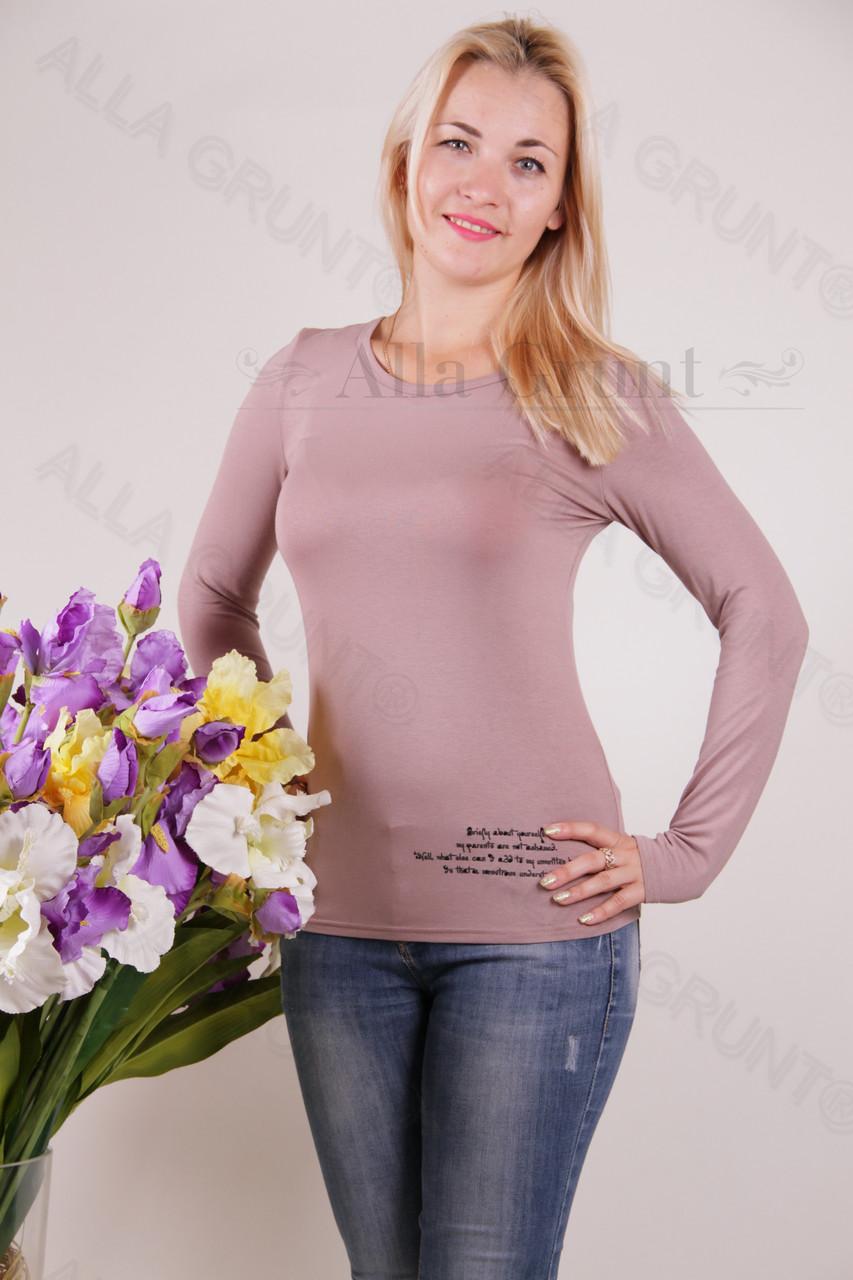Блуза-туника трикотажная 428-осн700-130 норма оптом от производителя Украина