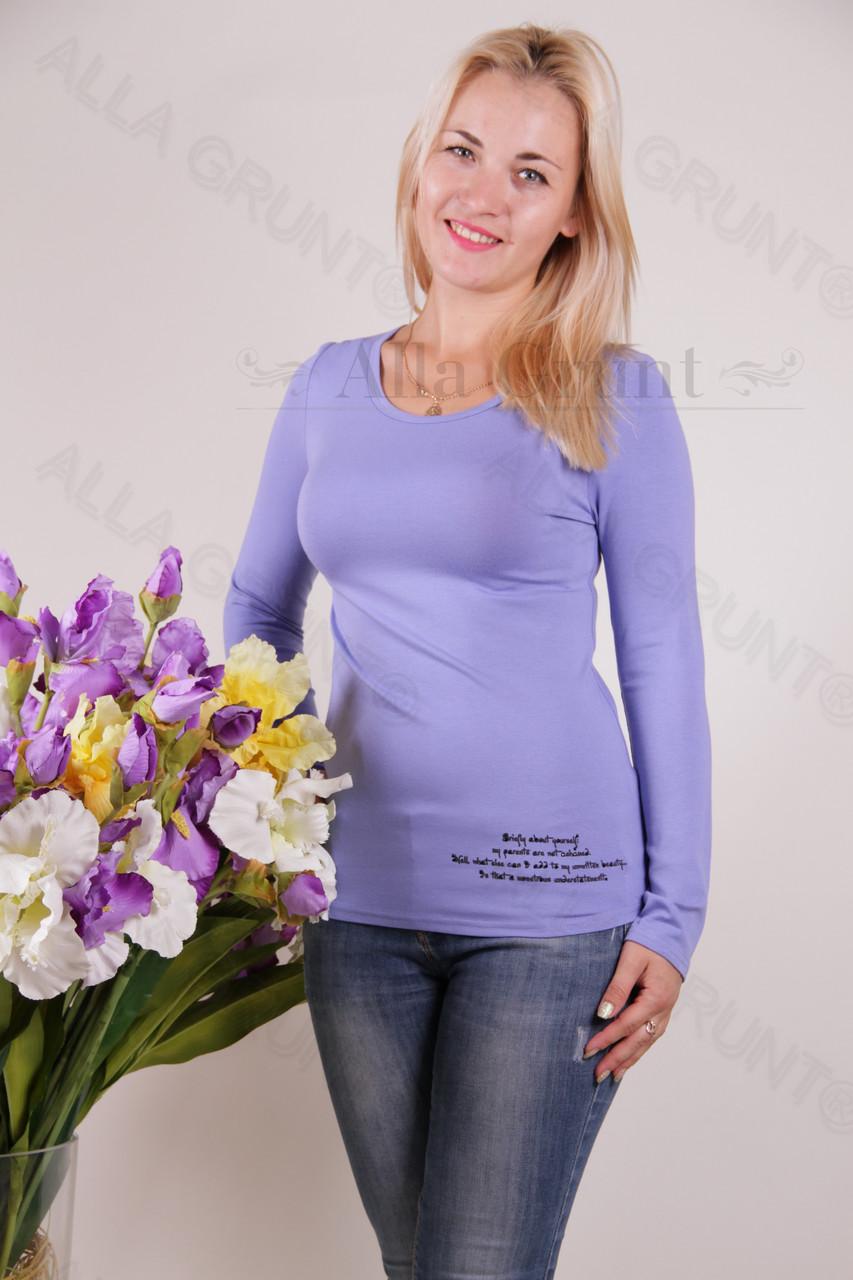 Блуза-туника трикотажная 429-осн700-130 норма оптом от производителя Украина