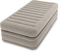 Надувной матрас-кровать Intex 64444, эл. насос