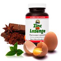 Пастилки с цинком от кашля Zinc Lozenge (сублингвальные таблетки для рассасывания в полости рта) NSP
