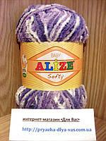 Детская пряжа(100%-микрополиэстер,50г/115м) Alize Baby Softy 51627
