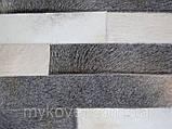 Продаж килимів з шкур, килим з чорним кантом, фото 4