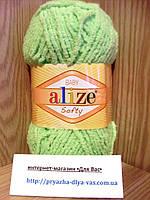 Детская пряжа (100%-микрополиэстер,50г/115м) Alize Baby Softy 41(ментол)