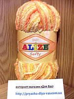 Детская пряжа (100%-микрополиэстер,50г/115м) Alize Baby Softy 51625
