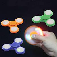 Спиннер spinner пластиковый светящийся, фото 1