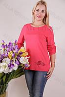 Блуза-туника трикотажная 420-осн800-130 полубатал оптом от производителя Украина