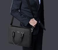 Мужская кожаная сумка. Модель 61292, фото 9