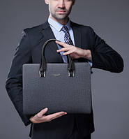 Мужская кожаная сумка. Модель 61292, фото 2