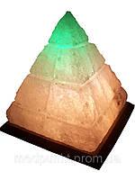 Солевая лампа, светильник Пирамида египетская 5-6 кг
