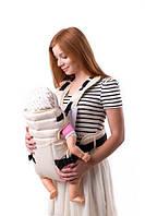 Рюкзак-кенгуру для переноски детей (аналог Womar) № 12 бежевый Украина 60705