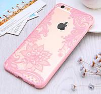 Чехол-бампер Primo Vintage для Apple iPhone 5/5S - Pink