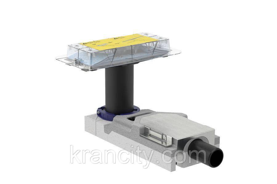 Набор для дренажных каналов GEBERIT CleanLine 154.152.00.1, конструкции пола высотой от 65 мм, L30см