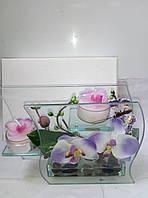 """Подсвечник """"орхидея""""-оригинальный подарок"""