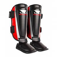 Защита для голеней ноги BAD BOY TRAINING SERIES 2.0 RED