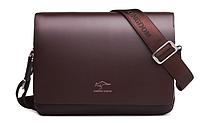 Мужская кожаная сумка. Модель 61294, фото 8