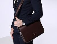 Мужская кожаная сумка. Модель 61294, фото 3