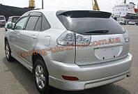 Накладка задний бампер для Lexus rx 2009-2012