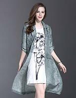 Поводом стиль es.dannuo женщин типа сезона верхняя одежда, рисунок планкой толщина ткани цвета длина рукава 05164863