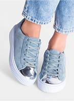 Кроссовки криперы  PUMA By Rihanna CREEPER с 37 по 41  размер 3 цвета blue, фото 1
