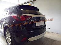 Накладка задний бампер для Mazda CX-5 2011