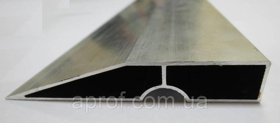 Правило алюминиевое строительное 3,5 м (ребро жесткости - 1,3 мм)