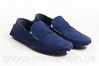 Мужские мокасины Louis Vuitton Leisure blue