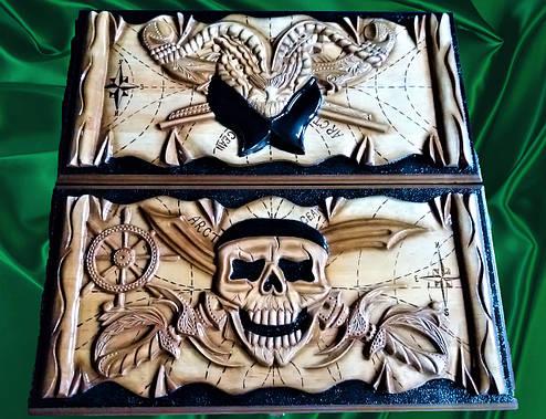 "Нарды "" Пираты Карибского моря "", фото 2"