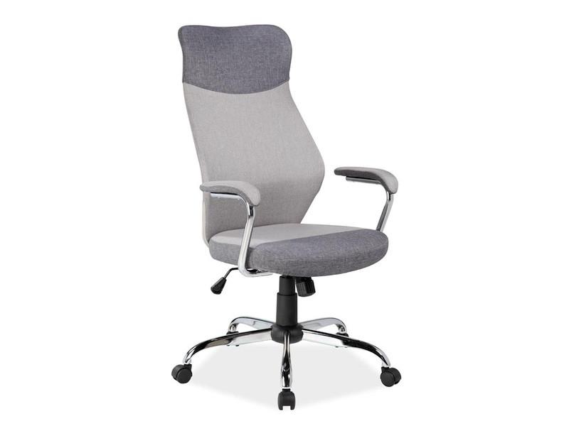 Кресло Q 319 серый,синий (Signal)