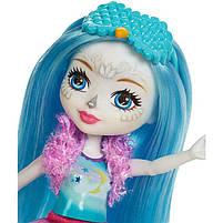 Кукла Энчантималс Enchantimals Сова с питомцами Развлечения на природе Сказки на ночь FCG78, фото 4