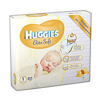 Подгузники Huggies Elite Soft Newborn 1 (до 5 кг), 82 шт.